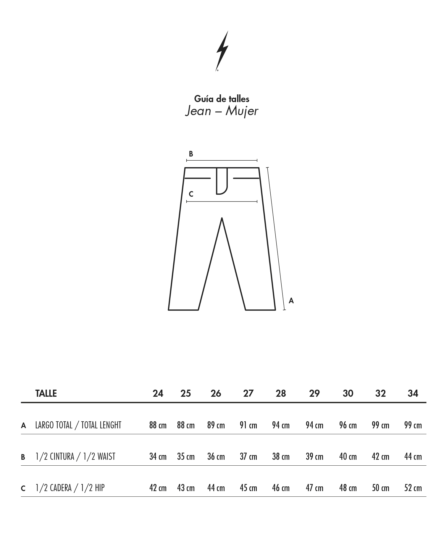 Sizes Guide